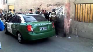 Agresion De Carabineros a Familia en Antofagasta