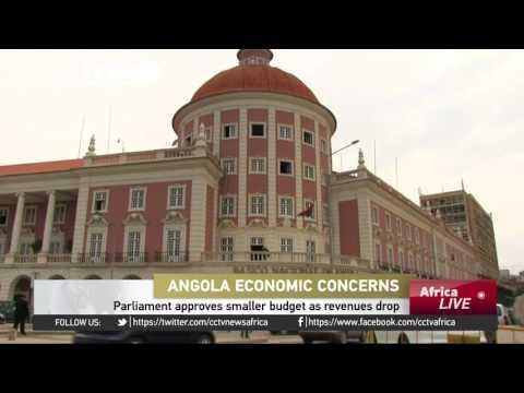 Angola's parliament approves smaller budget, as revenues drop