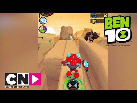 Ben 10 | Ben 10 Up To Speed Playthrough | Cartoon Network Africa