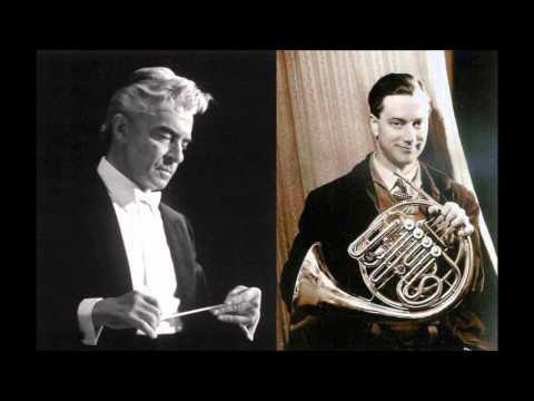 Dennis Brain, Mozart Horn Concerto No.1 n D major K 412