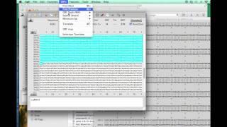 Identify mutations in plasmid DNA by ApE and Clustal, bio125, Spelman