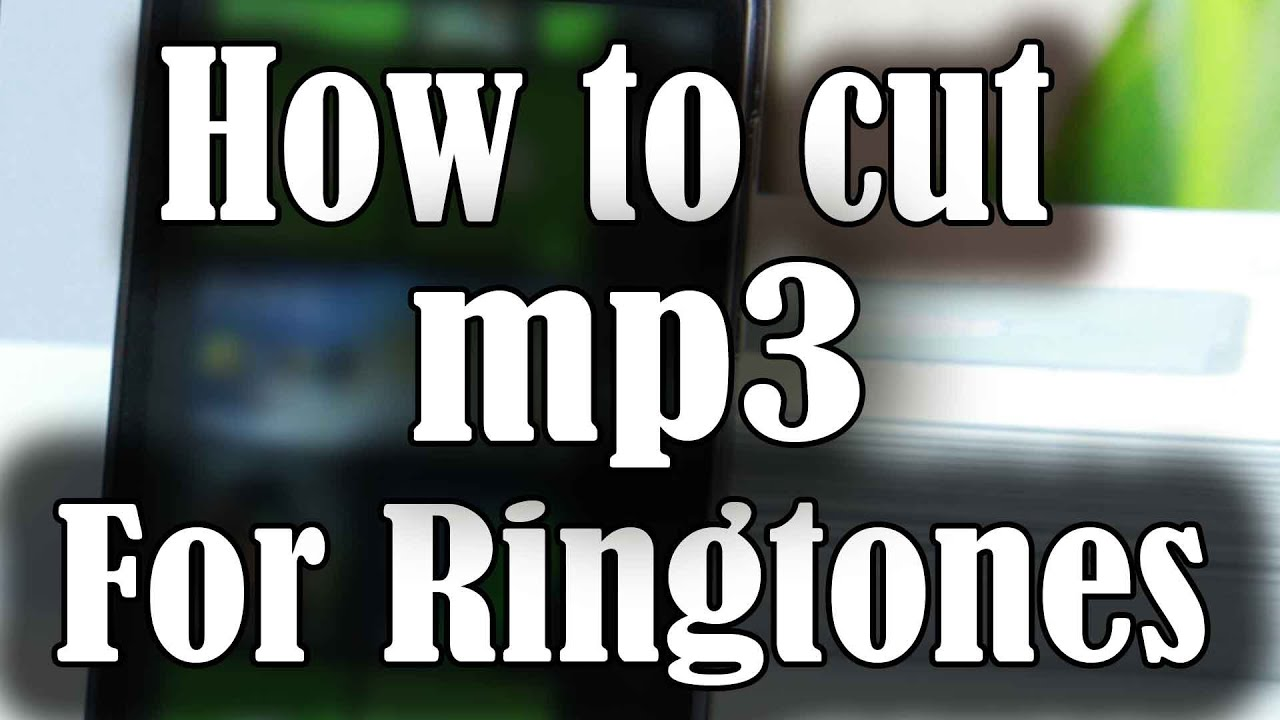 how to cut mp3 to make ringtones 2015 free online mp3 audio cutter youtube. Black Bedroom Furniture Sets. Home Design Ideas