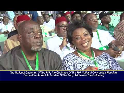Download PDP NATIONAL CONVENTION