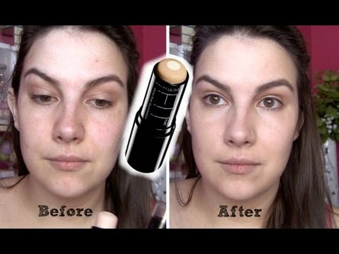 Maybelline Fit Me Shine Free Foundation Stick Review Youtube