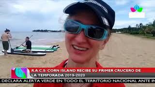 Multinoticias | Corn Island recibe su primer crucero de la temporada 2019-2020