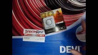 Infraqizil isitish panellari uchun termostatni umumiy tasavvur va ulanish RQ01 (RQ-01)Cewal