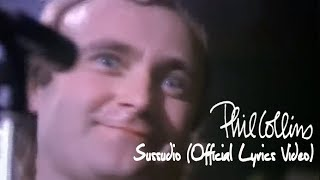 Phil Collins - Sussudio (Official Lyrics Video)