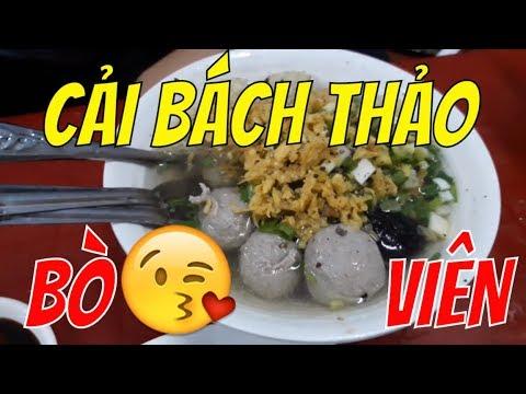 Guide SaiGon Food [25 NĂM] BÒ VIÊN CẢI BÁCH THẢO Phố Lương Nhữ Học