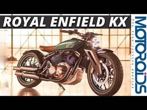 Royal Enfield Concept KX | 838cc V-Twin Cruiser Looks Gorgeous | Motoroids