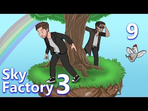 Minecraft: Sky Factory 3 w/ CaptainSparklez - Ep 9 - GP VS. RF IN AN EPIC SHOWDO...
