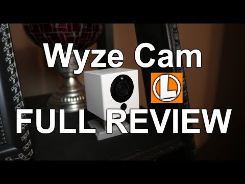 Wyze Cam Review 1080p Wireless Smart Home Camera Unboxing Setup Settings Footage Youtube