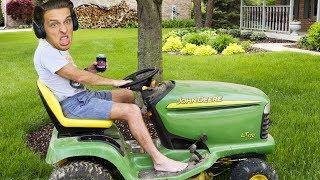 CO DĚLÁM SE SVÝM ŽIVOTEM? | Lawnmower Game