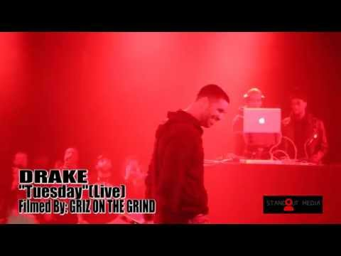 "DRAKE-""Tuesday""(Live In Toronto Nov/14/2014)"