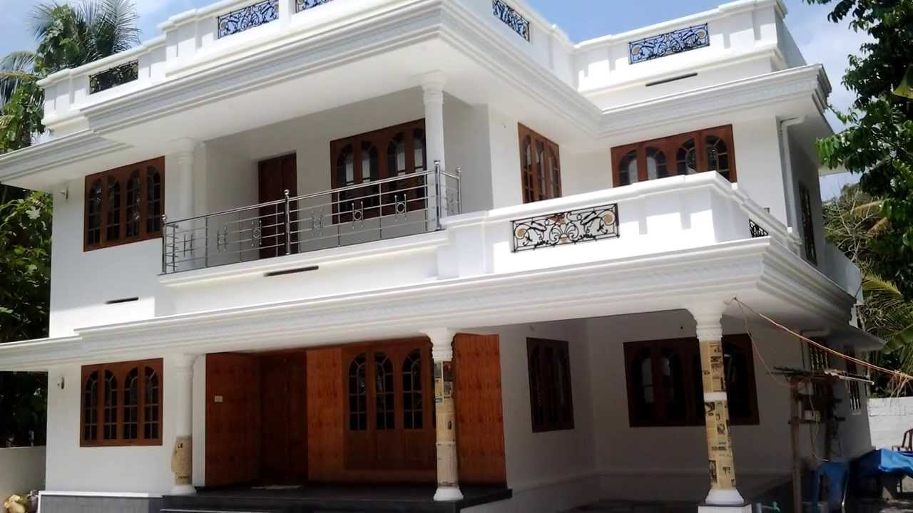 Luxury latest model house in angamaly kochi kerala sold for Latest house designs