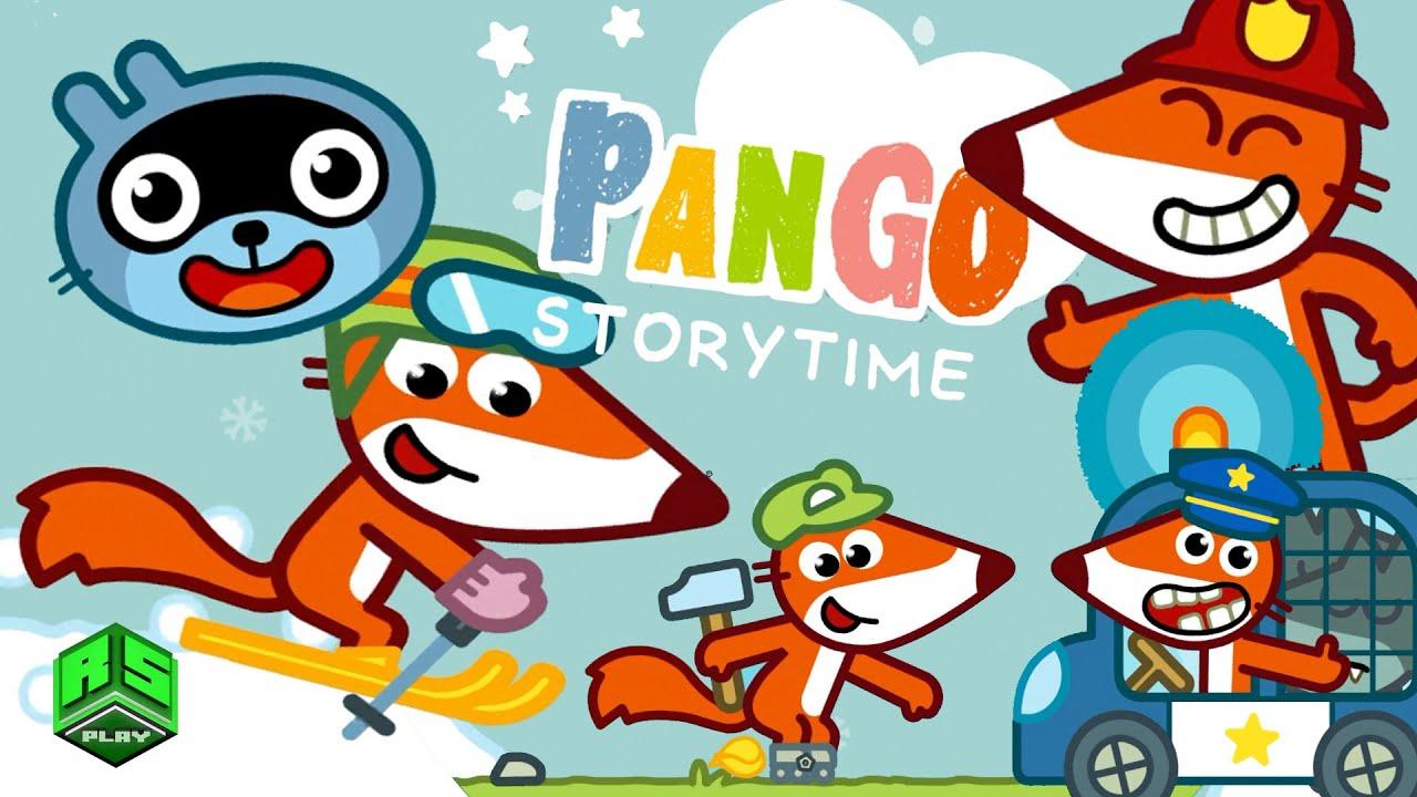 Download Funny Fox the Skier, Handyman, Policeman & Fireman! Pango Storytime!