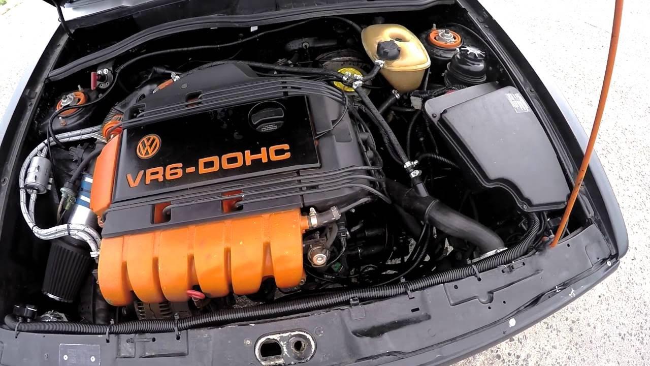 VW Caddy MK1 VR6 2 8 AAA swap black matt