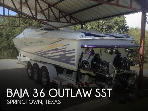 SOLD Used 1999 Baja 36 Outlaw SST In Springtown Texas