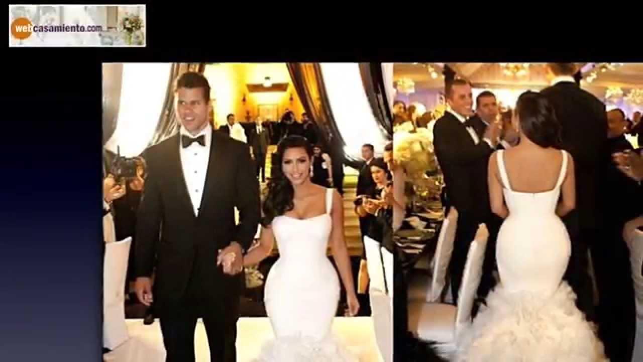 Vestidos para bodas famosas