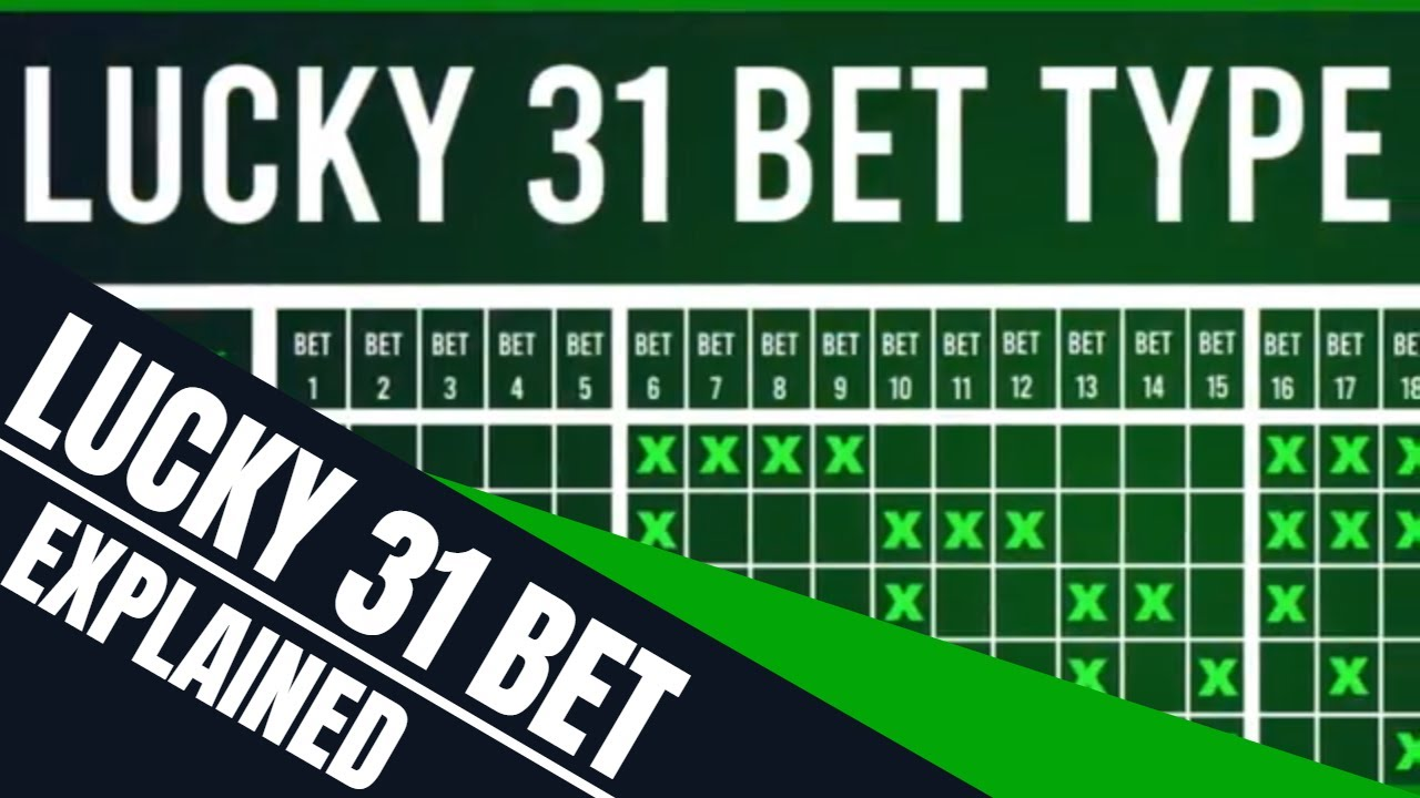 Calculate a lucky 31 betting new blocks in minecraft 1-3 2-4 betting system