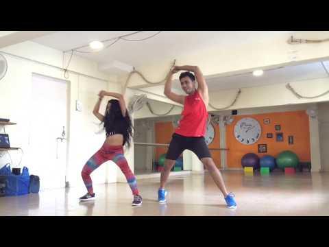 Reggaeton Lento Remix (CNCO ft. Little Mix) - Zumba choreography by Satyaki Saha and Raveen Gaikwad