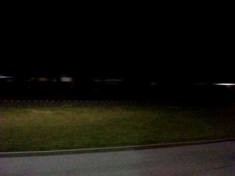 Late Night Action on CSX going thru The Waterfront near Pittsburgh Pa