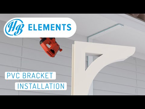 PVC Bracket Installation - How to Install a Bracket