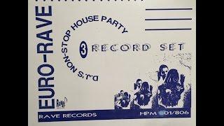 VINYL 1991: DJs Non Stop House Party 3 Record Set Euro Rave (1991 DJ set by Frankie Bones)