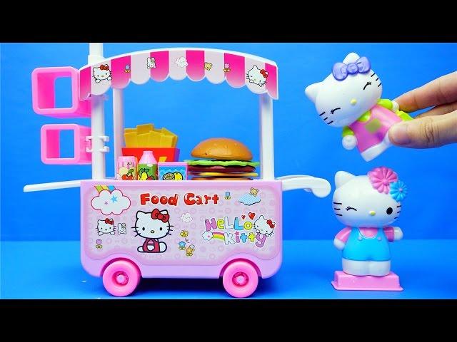 HelloKitty 外賣車 玩具 凱蒂貓