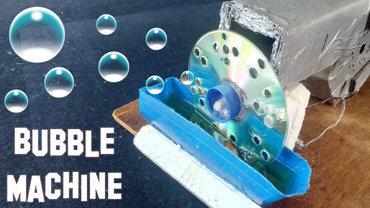 How To Make A Bubble Machine At Home Youtube