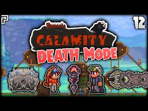 Vengeance & The Eater Of... PYTHONS! | Terraria Calamity Mod Death Mode Let's Play [Episode 12]