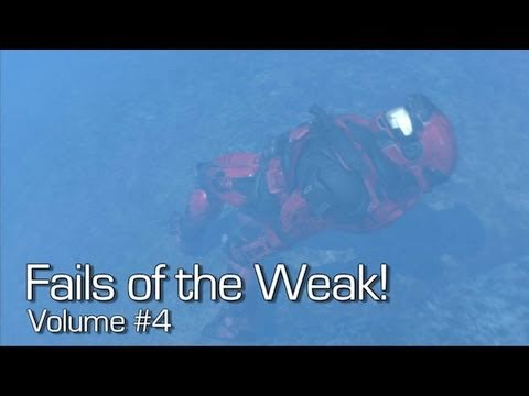 Fails of the Weak: Ep. 04 - Funny Halo 4 Bloopers and Screw Ups! | Rooster Teeth