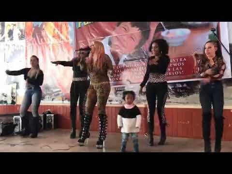 CUMBIA DE HOY - SHARY ERGUETA EN LOS LECHINSITOS DE SUR