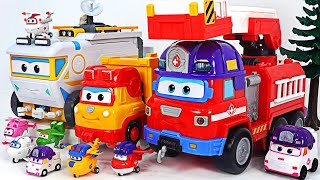 Big accident!! Super Wings Mission Rescue Rider Team! Go!   DuDuPopTOY
