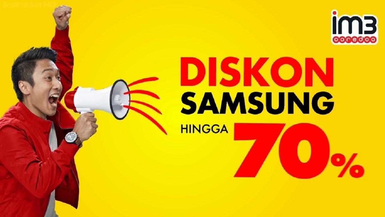 Iklan Im3 Ooredoo Diskon Samsung Hingga 70 Dengan Superplan