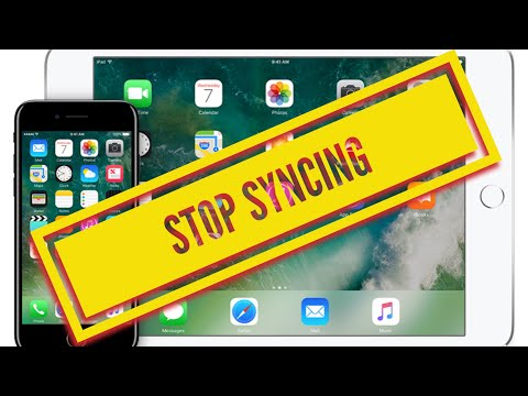 How can I stop syncing photos from my iPhone to my iPad and vice versa SOLVED