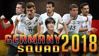 Germany Squad 2018 For Fifa 2018 world cup Russia Friendly match with Brazil | Germany line up 2018