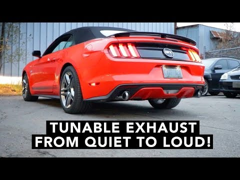 Ford Mustang S550 2015+ Exhaust Install How To & Sound Clips