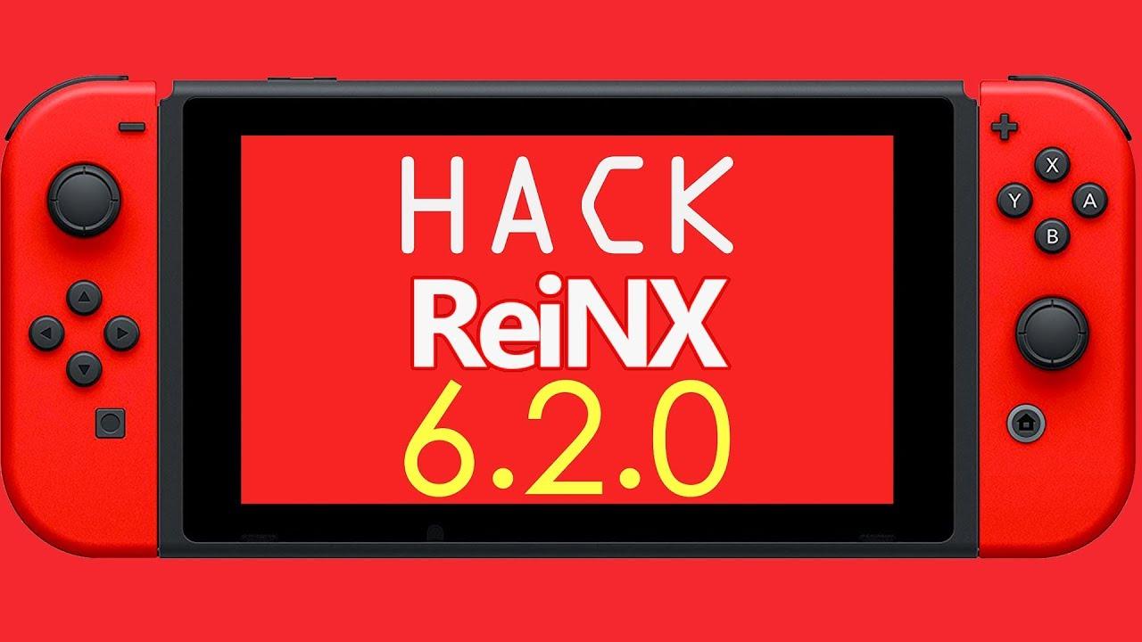 ReiNX - Firmware 6 2 0! | Hack della Nintendo Switch CON IL MAC!
