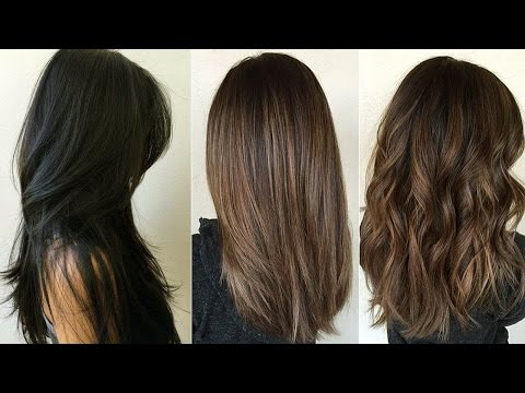 Cortes de cabello largo videos