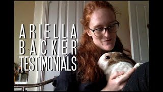 Ariella Backer Testimonials