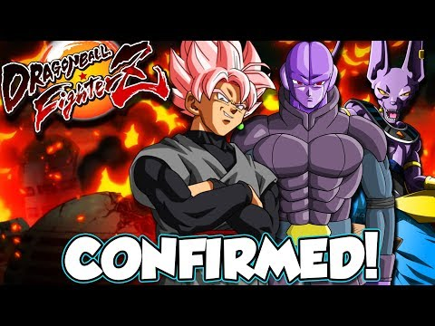 GOKU BLACK, BEERUS AND HIT CONFIRMED! Dragon Ball Fighterz Update And Movesets - 동영상