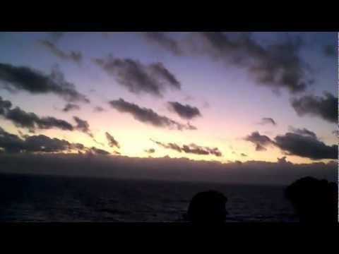 Sunrise on 1/9/13 near Grand Turk, Turks and Caicos, aboard Jamcruise 11