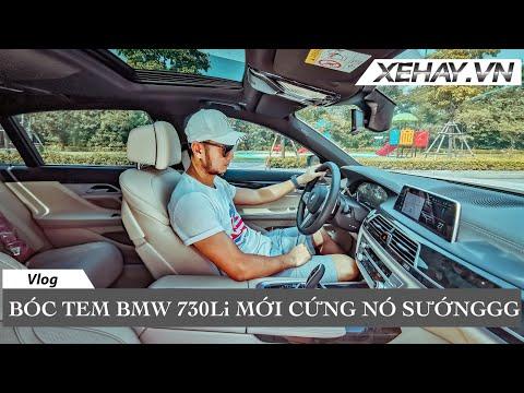 Bóc tem BMW 730Li mới cứng nó sướng thế này này | XE HAY