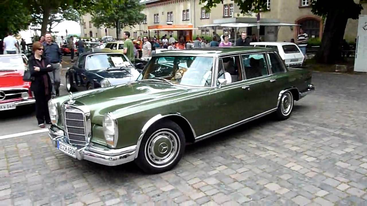 oldtimertreffen mainz mercedes 600 w100 youtube