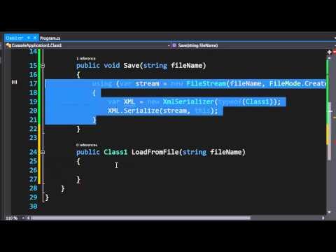 C# Xml Serialization