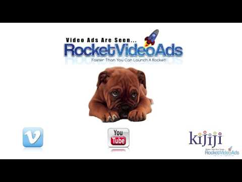 Video Advertising, Post it on Kijiji, Facebook, A Website...