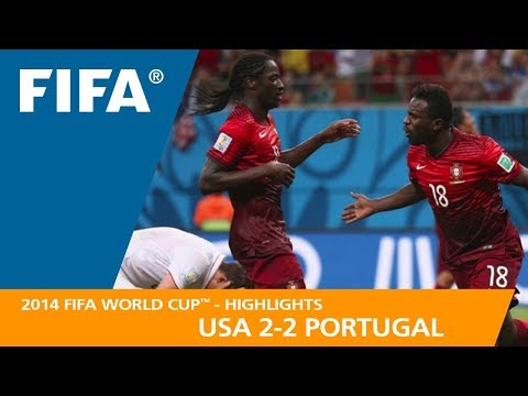 USA v PORTUGAL (2:2) - 2014 FIFA World Cup™