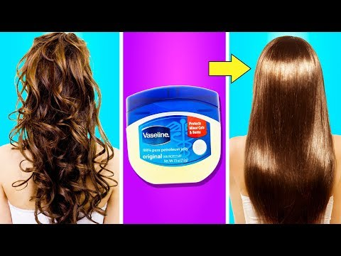 15 SIMPLE BUT USEFUL HAIR HACKS FOR EVERYDAY LIFE - YouTube