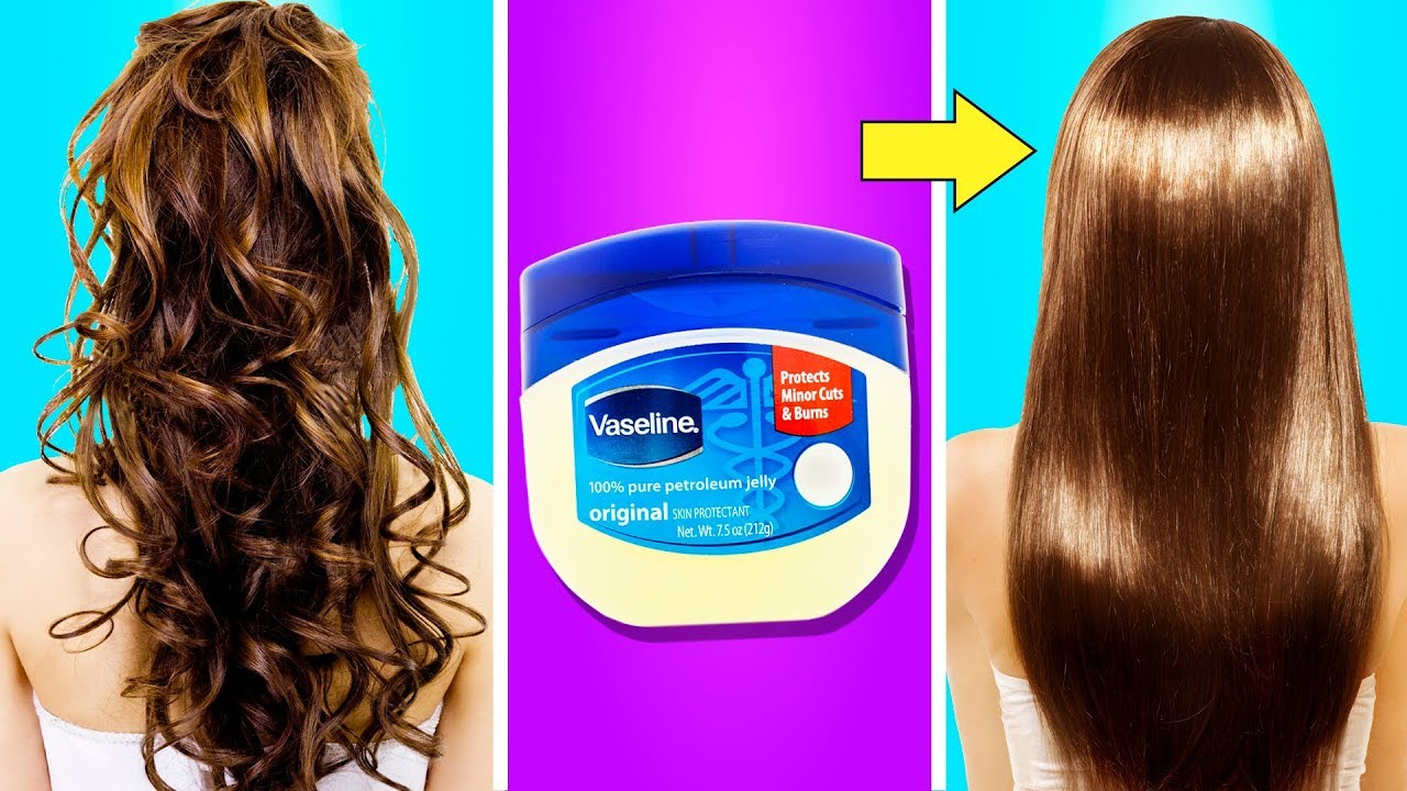 10 SIMPLE BUT USEFUL HAIR HACKS FOR EVERYDAY LIFE