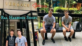 SHOPPING IN MIAMI'S DESIGNER MALL (Bal Harbour)!!!